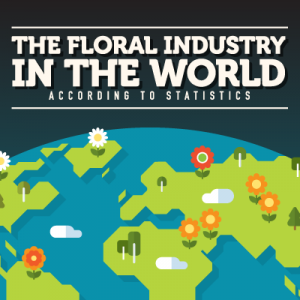 The Floral Industry in the World According to Statistics (Infographic)