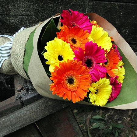 A Bouquet of Gerberas